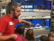 Commonwealth Charter Academy students recently went on a field trip to Petco in Cumberland County where they learned about fish and other animals. Students also used CCA's mobile classrooms to help supplement their learning experience.
