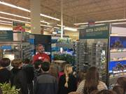 Commonwealth Charter Academy students recently went on a field trip to Petco in Cumberland County where they learned about a variety of animals. Students also used CCA's mobile classrooms to help supplement their learning experience.