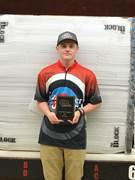 Commonwealth Charter Academy 11th-grader Christian Lurch earned his silver Olympian pin from USA Archery.