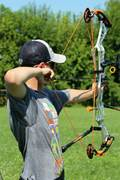 Christian Lurch, an 11th-grader at Commonwealth Charter Academy, just earned his silver pin from USA Archery. He's gunning for gold next. Read more.