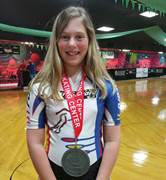 Neeli Hoff, a sixth-grader at Commonwealth Charter Academy, recently participated in the World Cup Championships' inline speed skating competition in Orlando.