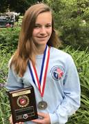 CCA student Maddy Schmidt, 15, of Lehigh County, competed in the Marine Corps' National High School Physical Fitness Championships in San Diego.