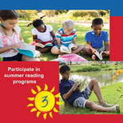 Studies show that students who read just six books over the summer can minimize summer learning loss.