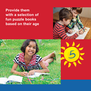 Sudoku puzzles, crosswords, acrostics and brain teasers are just a few examples that can help keep your child's mind sharp.