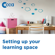 Here are some tips from CCA family mentors on how to set up an effective learning space.