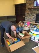 School supplies for Hurricane Harvey relief efforts