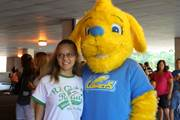 Commonwealth Charter Academy's new mascot, Comet, is excited to meet CCA families at school-related activities during the school year.