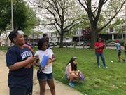 The CCA Makers Society hosted a bottle rocket launch at our West Philadelphia Family Service Center.