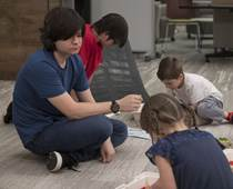 CCA ninth-grader Alisher Aminov of Lebanon teaches robotics to other students using Legos. Find out how our PA cyber school helps him to teach while getting an education.