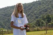 Ashley Heller of Duncannon is taking a new summer course at CCA that teaches students how to fly drones.