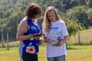 CCA parent Melody Heller of Duncannon, left, and her daughter, Ashley, work to fly a drone as part of a new summer course at CCA.
