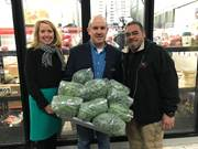 CCA staff delivers AgWorks at CCA donation to the Central PA Food Bank.
