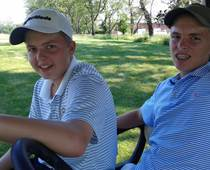 CCA students Caleb and Josh Ryan of Montgomery County are competitive golfers. Parents Michelle and Kevin Ryan enrolled their three boys at CCA because their local school district lacked individual academic attention and the family needed to schedule their days around golf tournaments and practice. Their other son, Daniel, also is a CCA student.